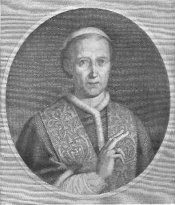 Porträt von Papst Leo XII.